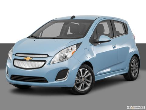 2016 Chevy Spark baby blue