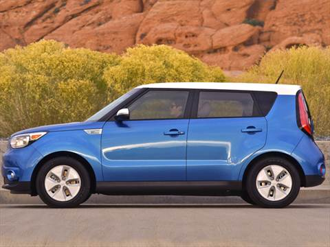 2016 Kia Soul EV medium blue